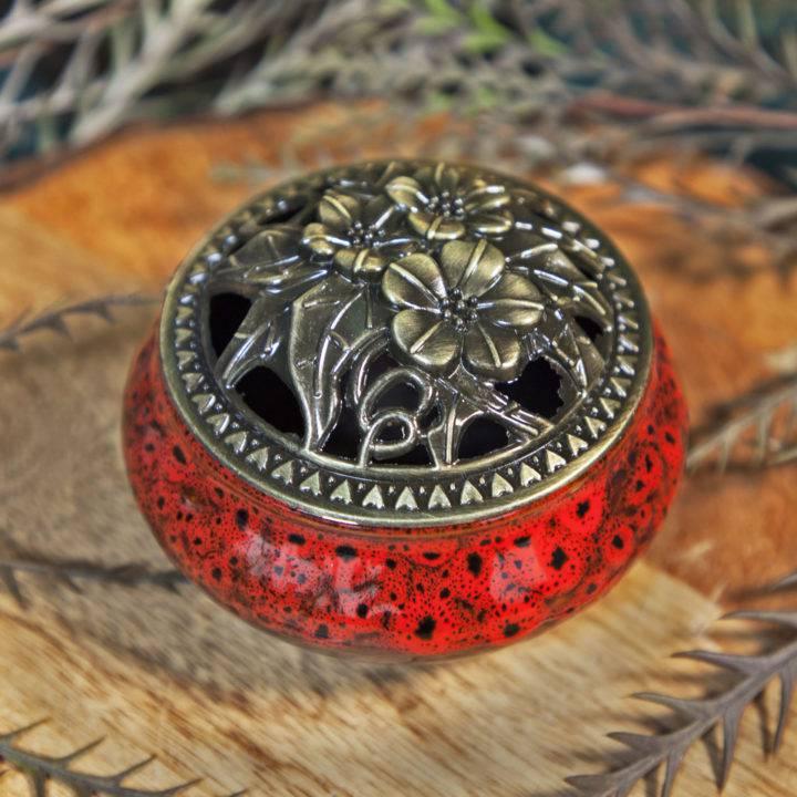 Ceramic Coil Incense Burners