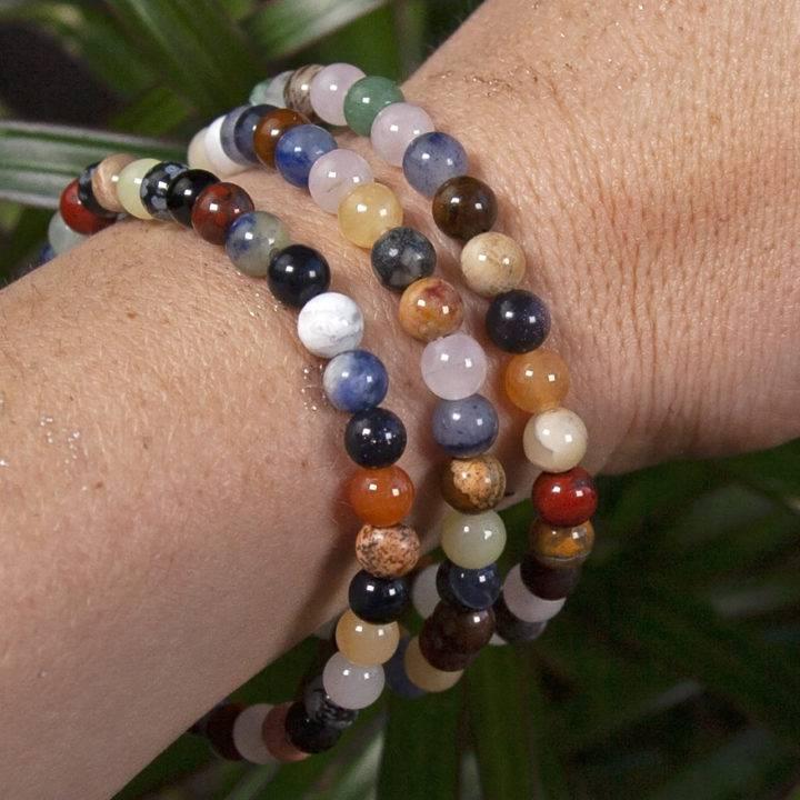 Chakra Alignment Gemstone Bracelets