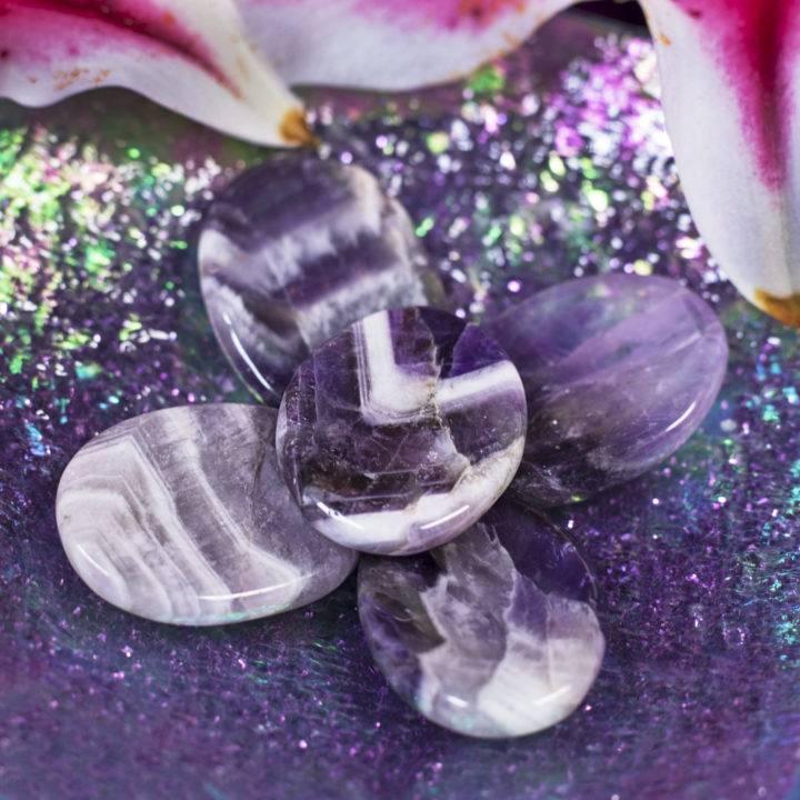 Dream Amethyst Worry Stones