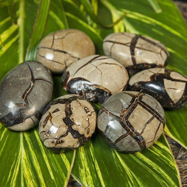 Druzy Septarian Meditation Stones