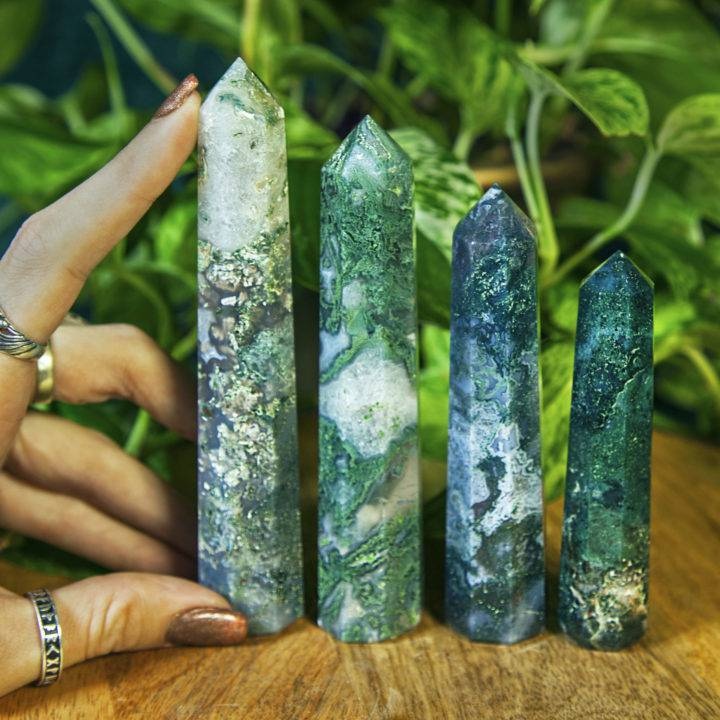 Gaias Grounding Moss Agate Generators