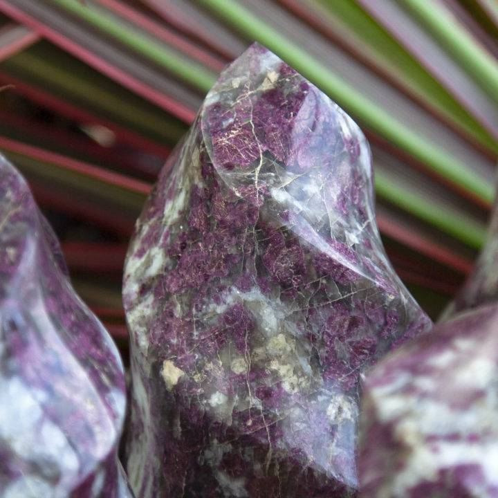 Heal Your Pain Rubellite Flames