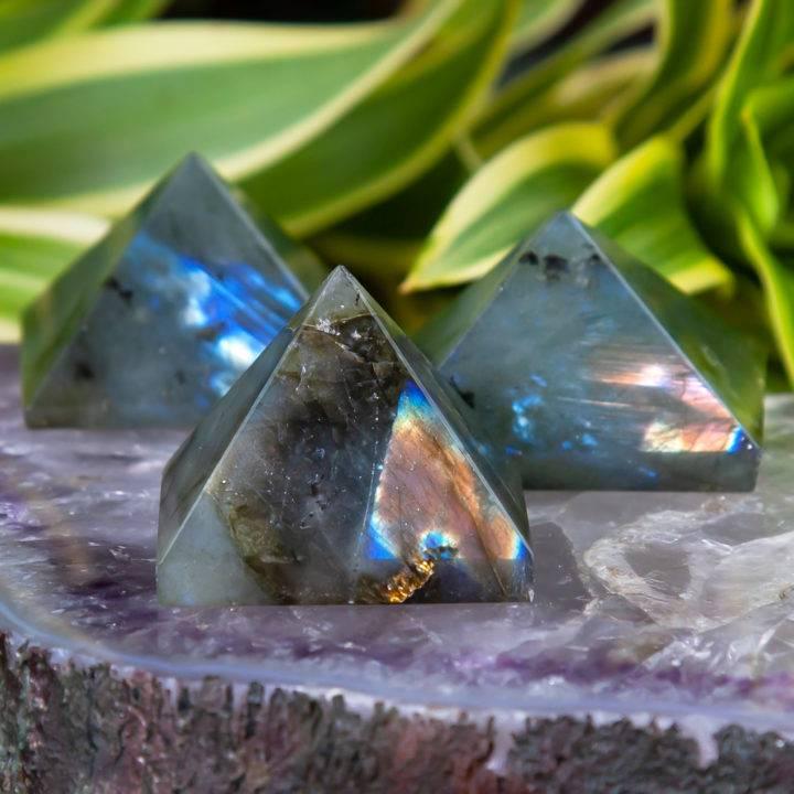 Labradorite New Moon Magic Pyramids