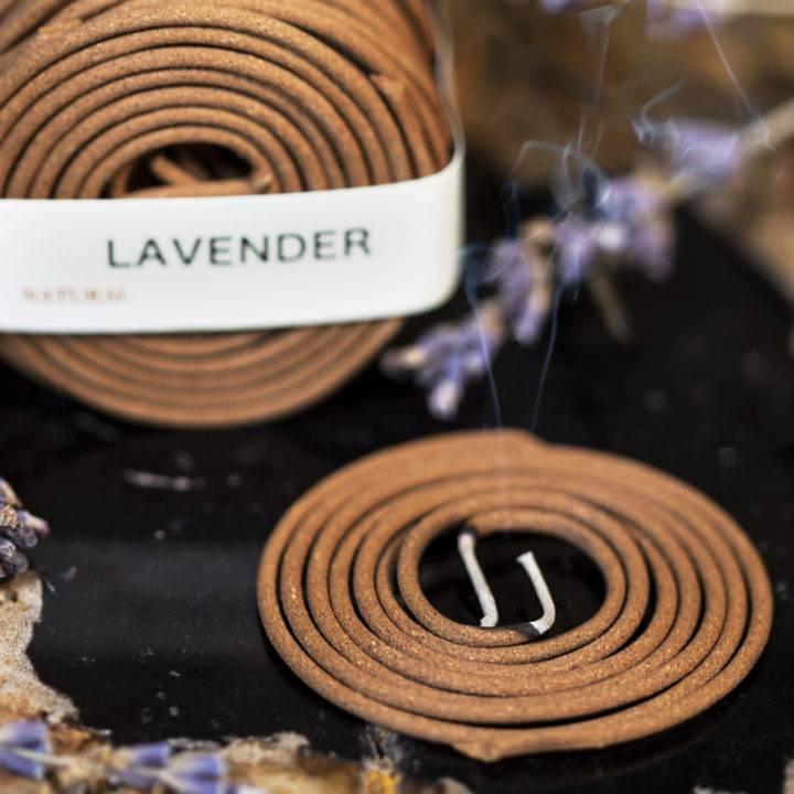 Lavender Coil Incense