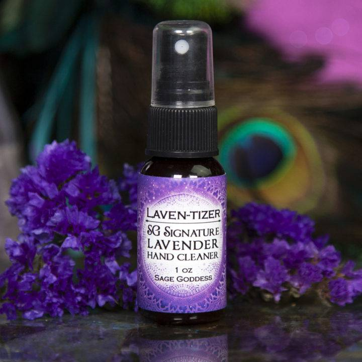 Laven-tizer Lavender Hand Cleaner Spray