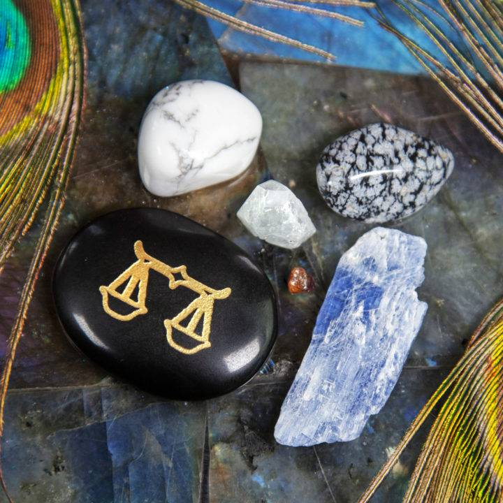 Libra Balance of Life Gemstone Set