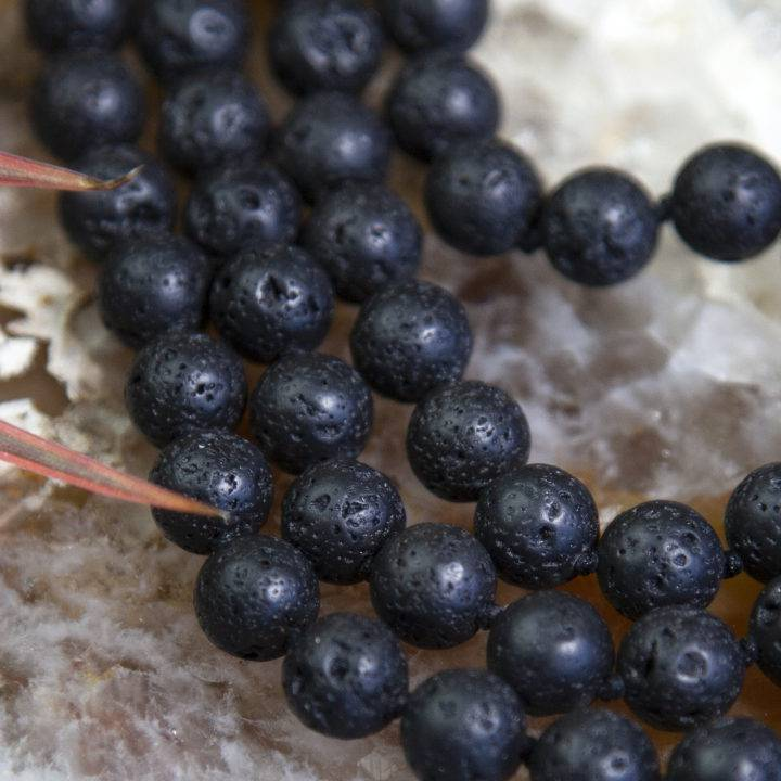 Black Lava Shadow Malas