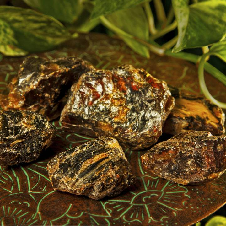 Natural Black Amber