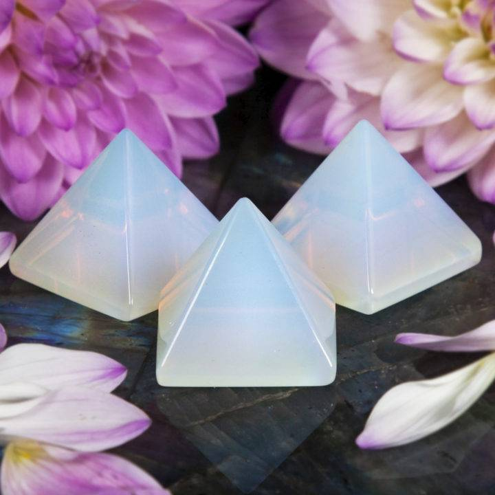Opalite Success and Strategy Pyramids
