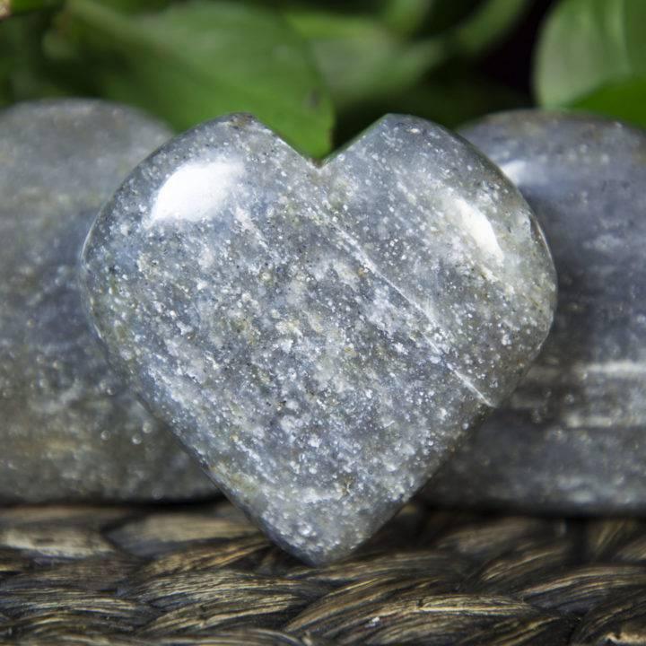 Portal of Love Silver Aventurine Hearts