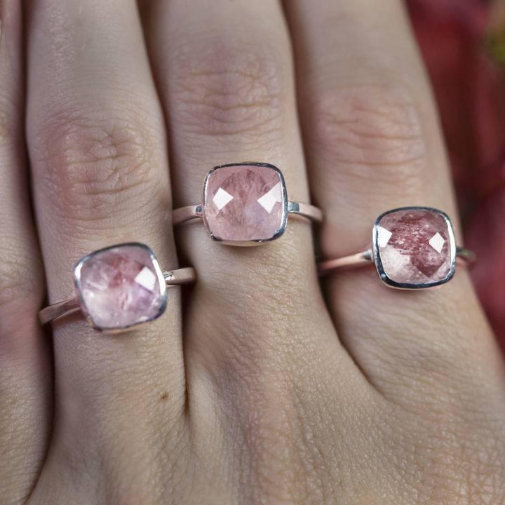 Queen of Love Morganite Rings