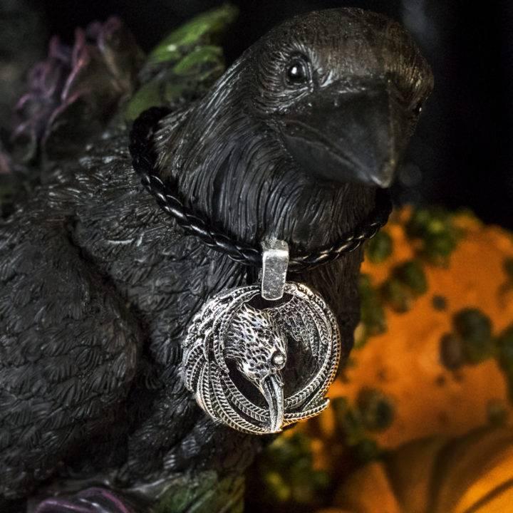 Raven Secret Keeper Pendants