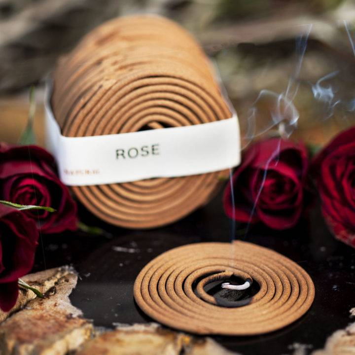 Rose Coil Incense