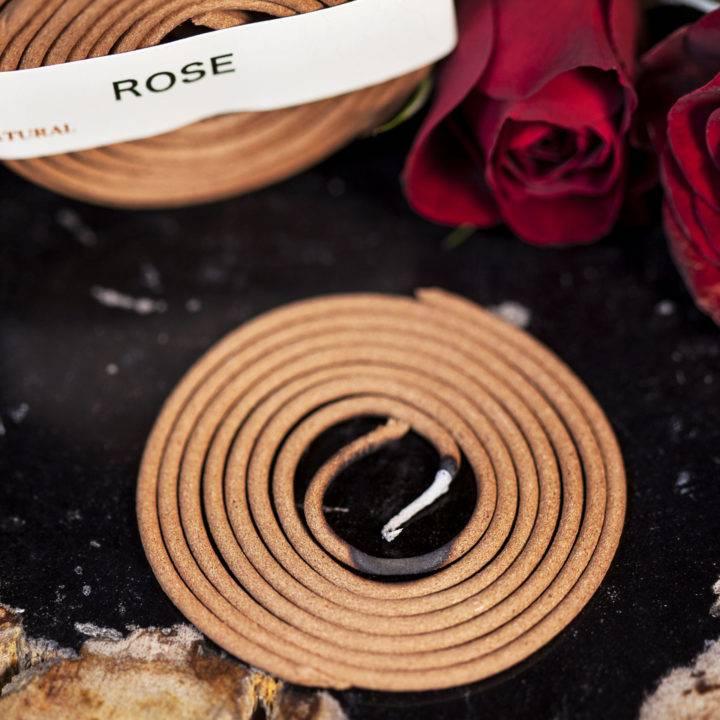 Rose Coil Incense