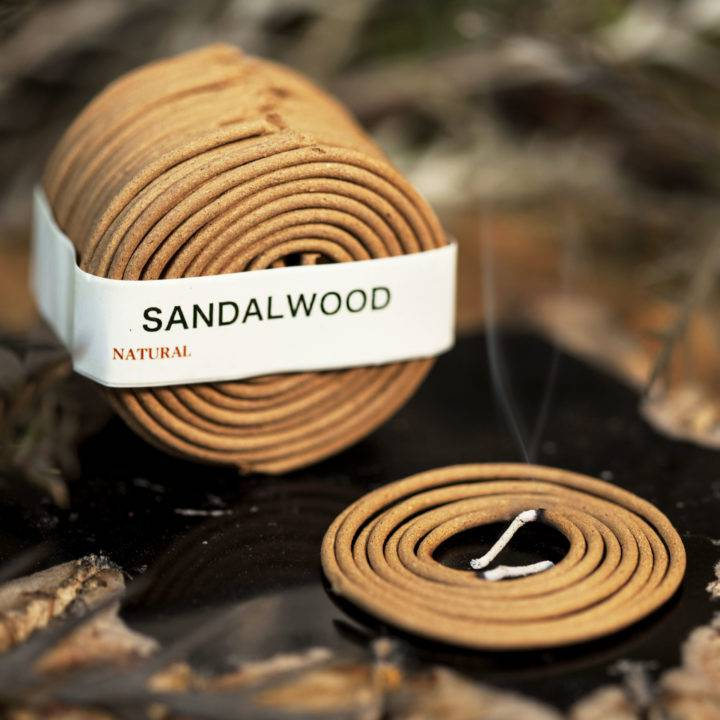 Sandalwood Coil Incense