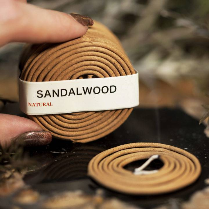 Sandalwood Coil Incense