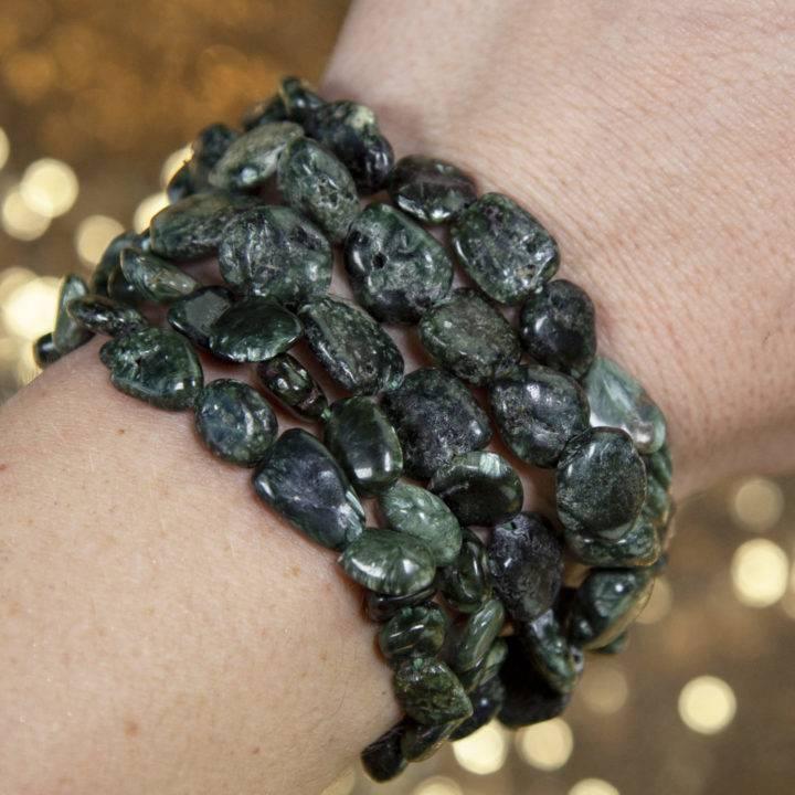 Seraphinite Bracelets
