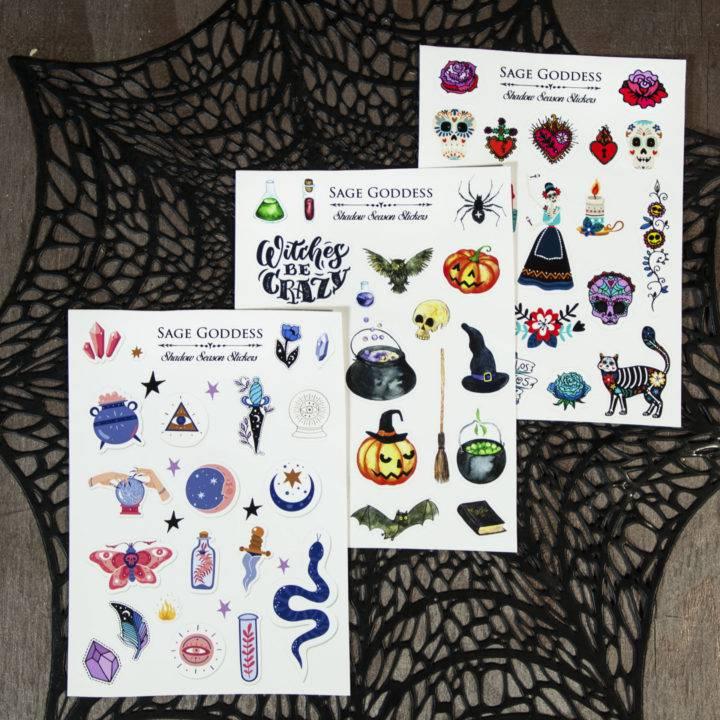 Shadow Season Stickers