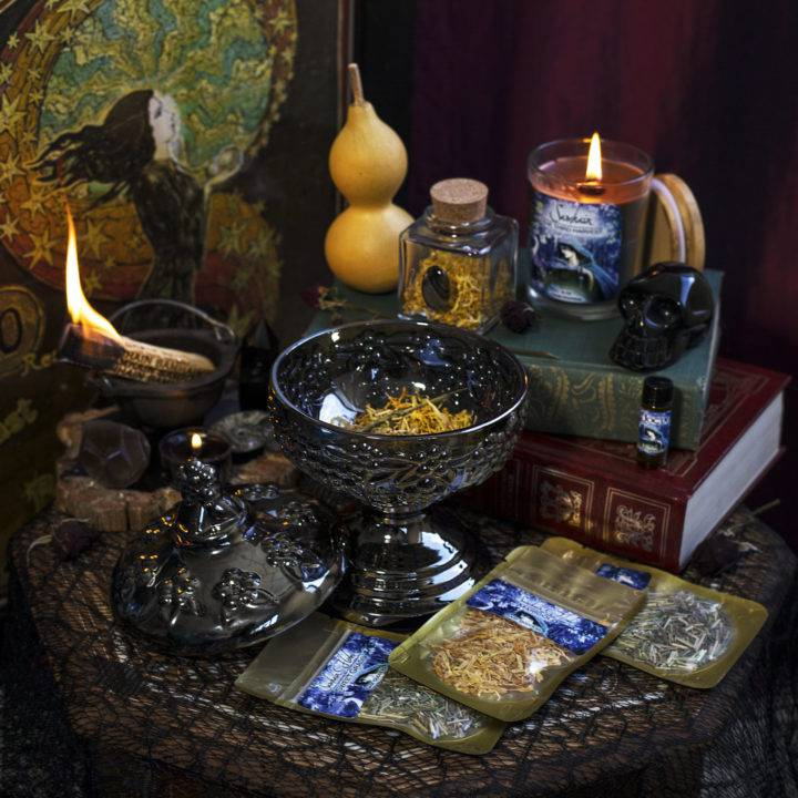 Triple Goddess Third Harvest Samhain Kit