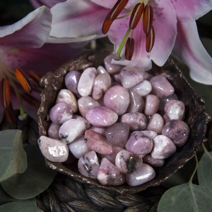 Tumbled Pink Petalite