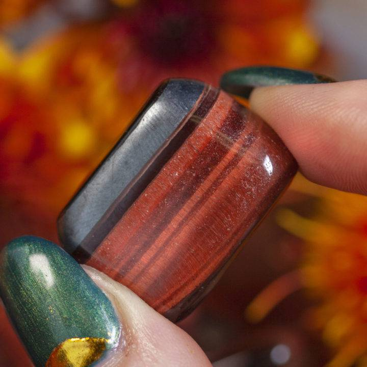 Tumbled Red Tiger's Eye