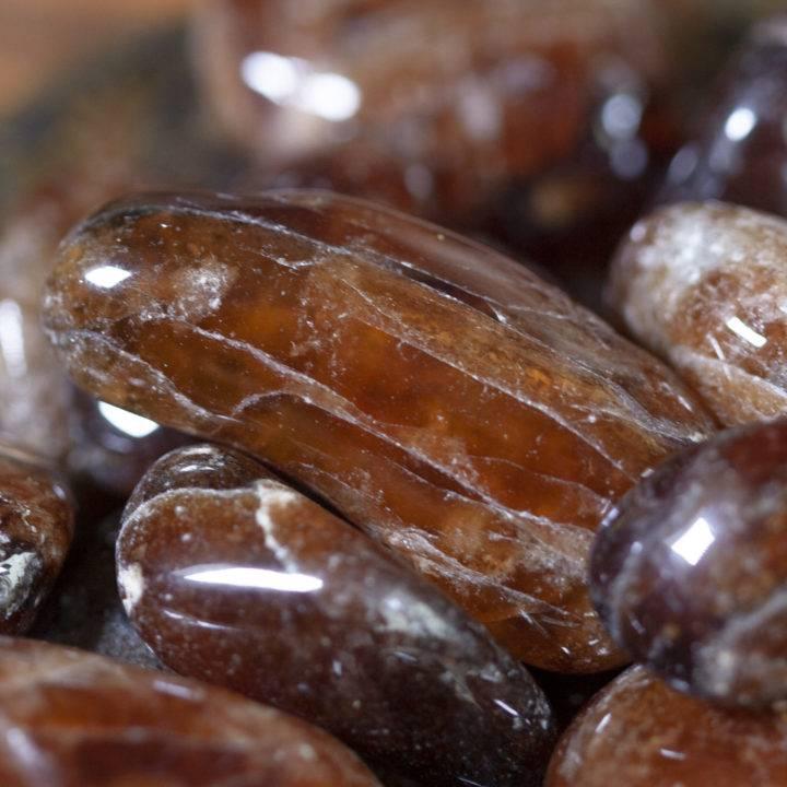 Tumbled Spessartite Garnet