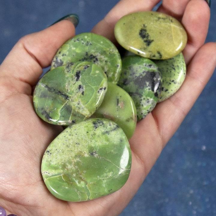 Variscite Palm Stones