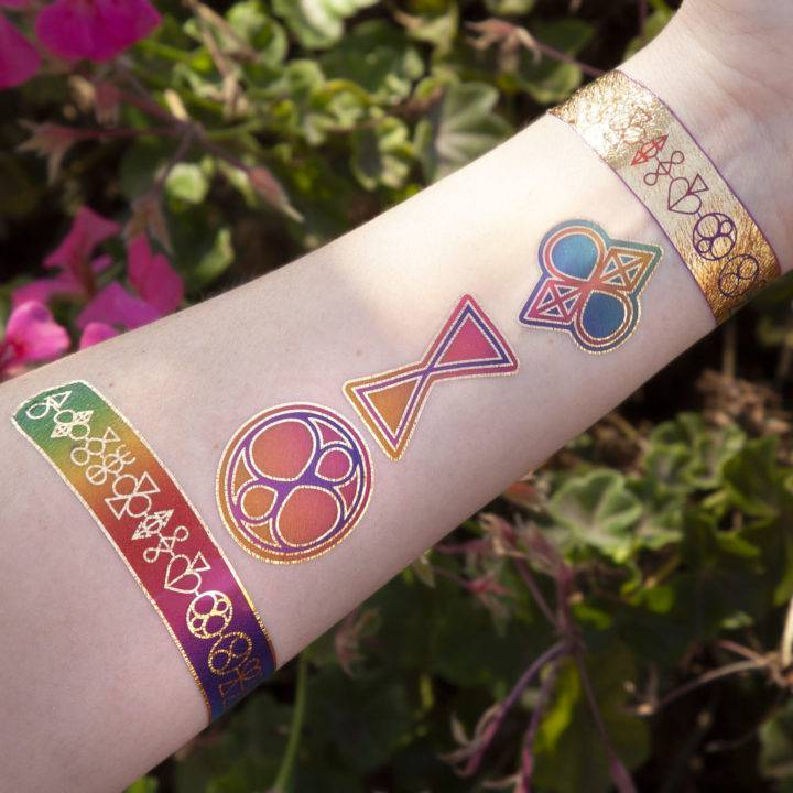 Angelofos Soul Shift Flash Tattoos