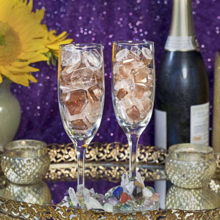 Champagne Topaz Slices