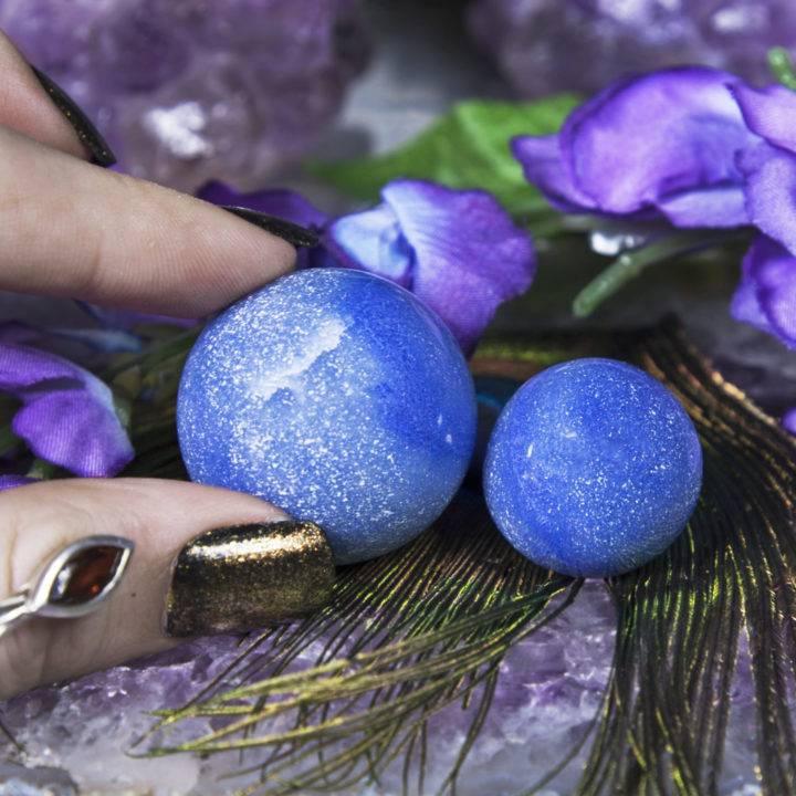 Dumortierite Mini Spheres