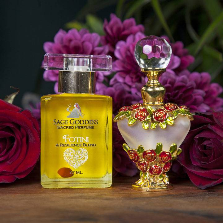 Limited Edition Fotini Perfume with Perfume Bottle