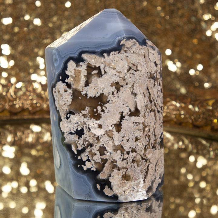 Geode Agate Tower