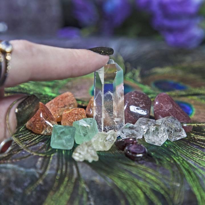 Get Focused Crystal Grid