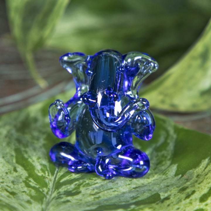 Hand Blown Glass Ganesha BeeBops