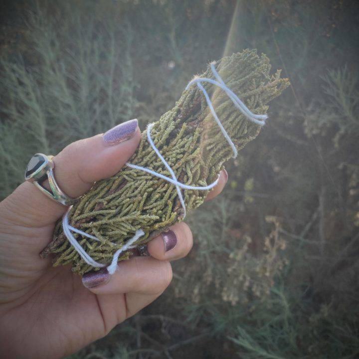 Small Juniper Smudge Bundles