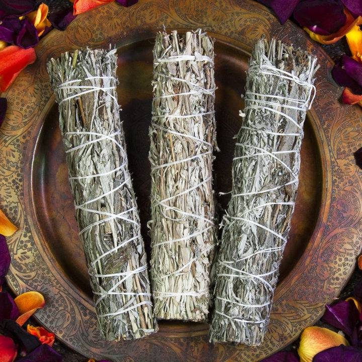 Large Black Sage Smudge Bundles
