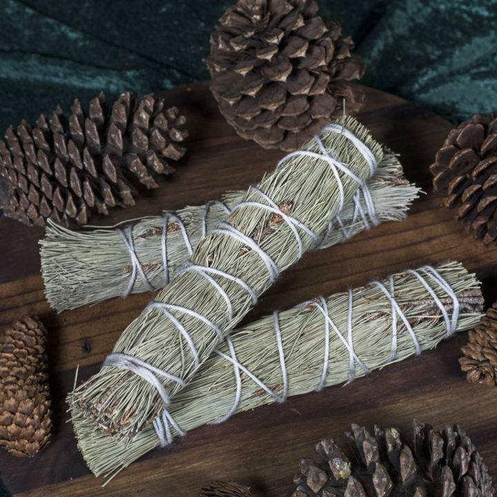 Large Pinon Pine Smudge Bundles