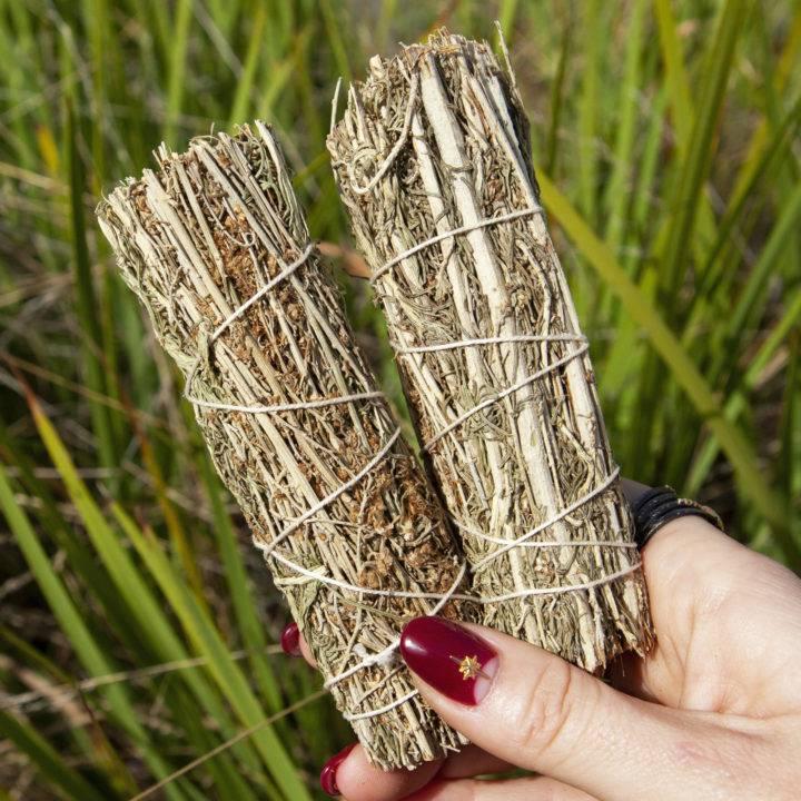 Mini Desert Sage Smudge Bundles