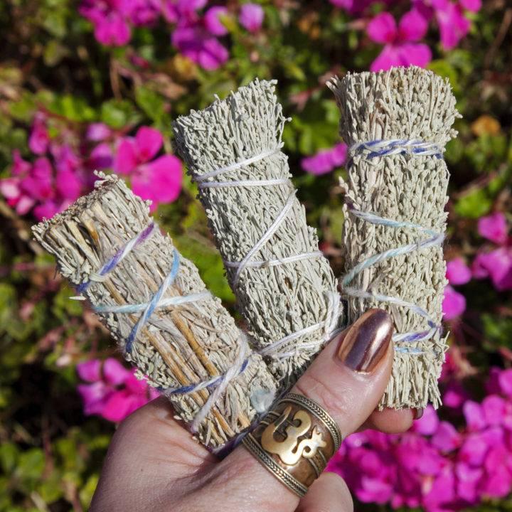 Mini Shasta Sage Smudge Bundles