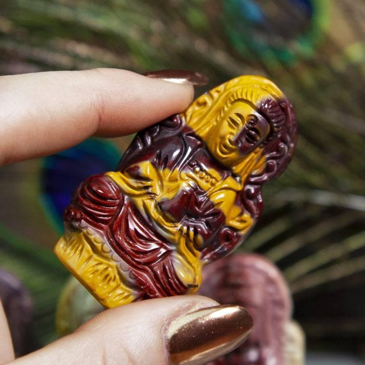 Mookaite Jasper Quan Yin Carvings