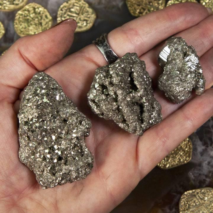 Natural Pyrite