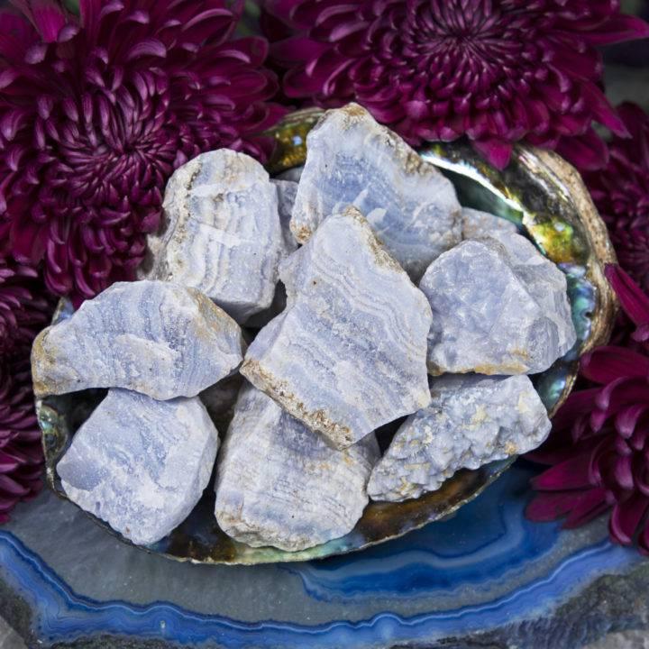 Natural Blue Lace Agate