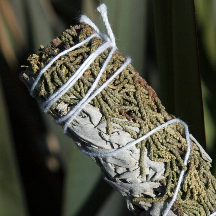 Small Juniper and White Sage Smudge Bundles