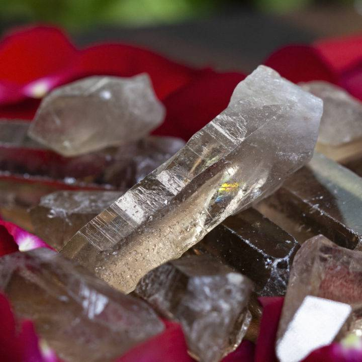 Smoky Quartz Protection and Purification Points