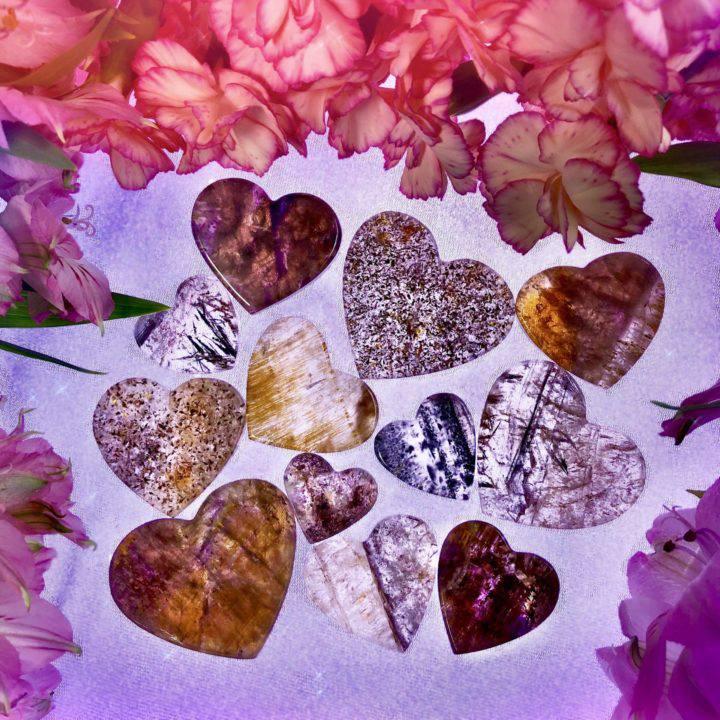 Super 7 Ultra Healing Hearts