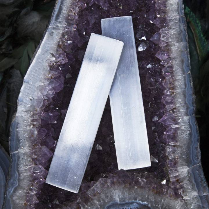 Selenite Moonlight Magic Wands