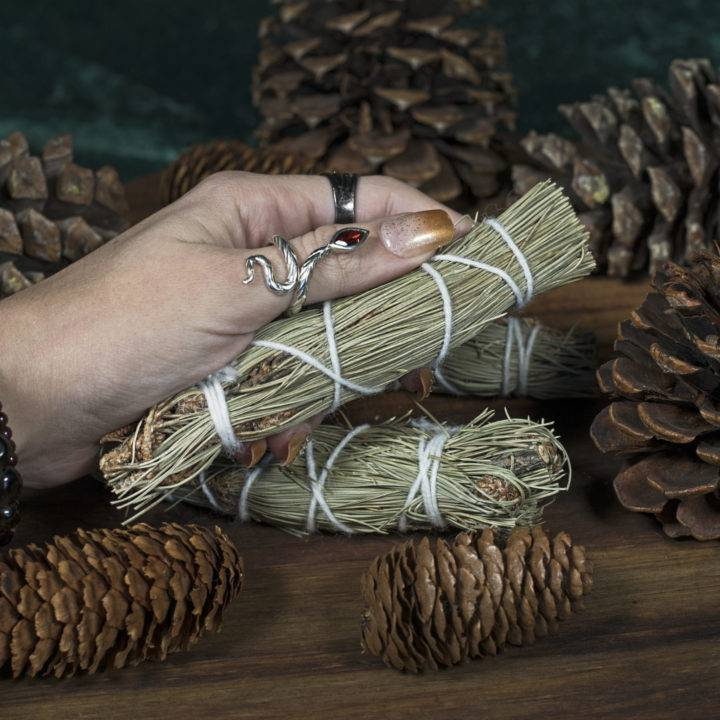 Small Pinon Pine Smudge Bundles