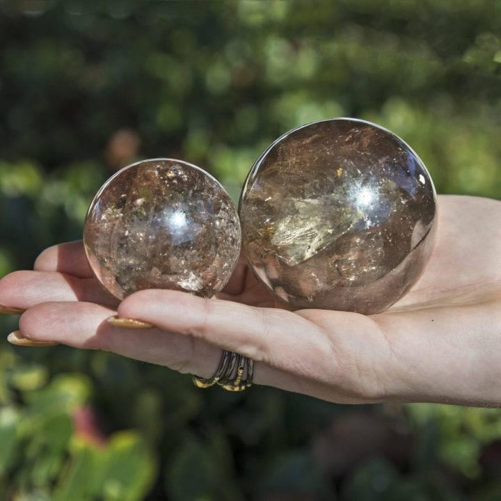 Smoky Quartz Transmutation Spheres