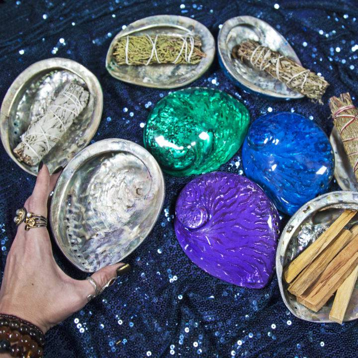 Chakra Magic Smudging Shells