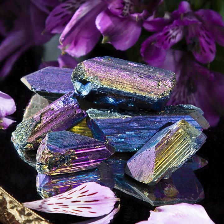 Titanium Aura Danburite